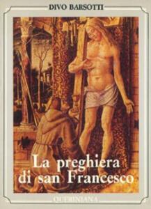 La preghiera di san Francesco