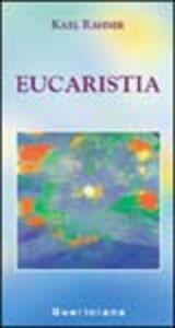 Libro Eucaristia Karl Rahner