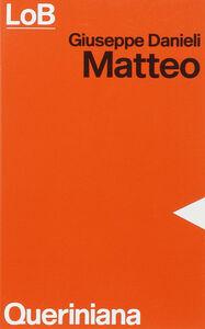 Libro Matteo Giuseppe Danieli
