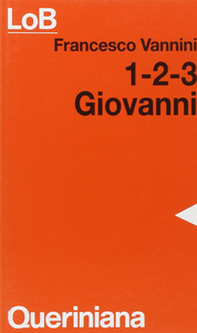 Libro Giovanni 1-2-3 Francesco Vannini