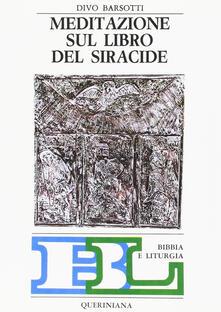 Grandtoureventi.it Meditazione sul libro del Siracide Image