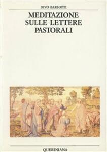 Meditazione sulle lettere pastorali