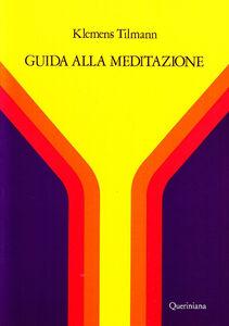Libro Guida alla meditazione Klemens Tilmann