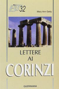 Libro Lettere ai corinzi Mary A. Getty
