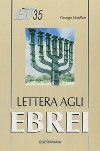 Libro Lettera agli ebrei George MacRae