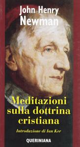 Libro Meditazioni sulla dottrina cristiana John Henry Newman