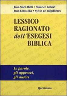 Promoartpalermo.it Lessico ragionato dell'esegesi biblica. Le parole, gli approcci, gli autori Image