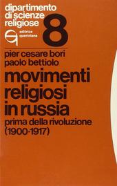 Movimenti religiosi in Russia prima della rivoluzione (1900-1917)