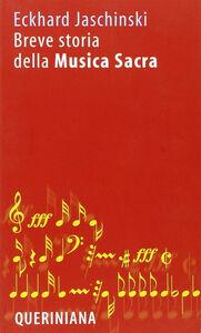 Libro Breve storia della musica sacra Eckhard Jaschinski