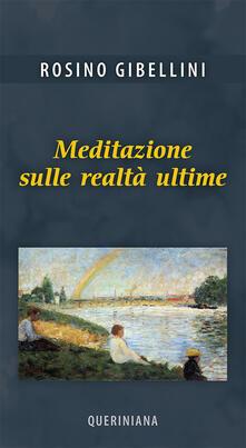 Grandtoureventi.it Meditazione sulle realtà ultime Image