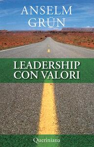 Libro Leadership con valori Anselm Grün