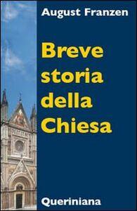 Libro Breve storia della Chiesa August Franzen