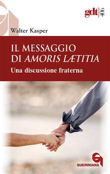 Daddyswing.es Il messaggio di Amoris Laetitia. Una discussione fraterna Image