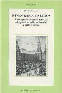Libro Etnografia ed etnos Stefania Cannarsa