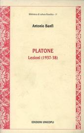 Platone. Lezioni 1937-38