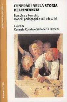 Antondemarirreguera.es Itinerari nella storia dell'infanzia. Bambine e bambini, modelli pedagogici e stili educativi Image