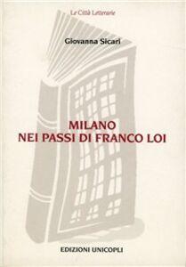 Milano nei passi di Franco Loi