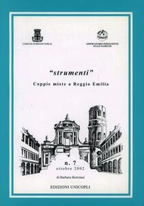 Coppie miste a Reggio Emilia