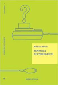 Libro Semiotica dei videogiochi Massimo Maietti
