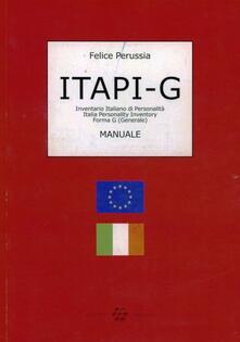 Steamcon.it ITAPI-G. Italia Personality inventory. Inventario di personalità forma G (generale) Image