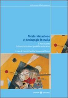 Letterarioprimopiano.it Modernizzazione e pedagogia in Italia. Il Novecento. Cultura, istituzioni, pratiche educative Image