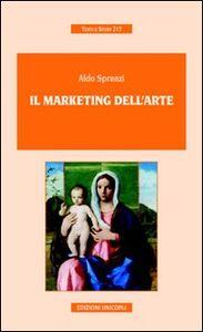 Libro Il marketing dell'arte Aldo Spranzi