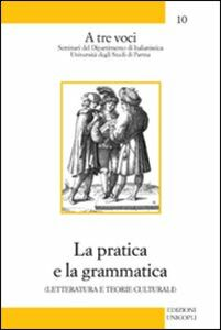 La pratica e la grammatica. Letteratura e teorie culturali