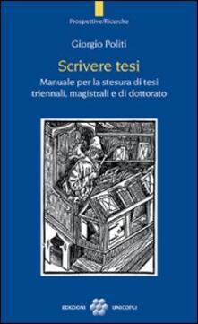 Aboutschuster.de Scrivere tesi. Manuale per la stesura di tesi triennali, magistrali e di dottorato Image