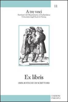 Squillogame.it Ex libris (biblioteche di scrittori) Image