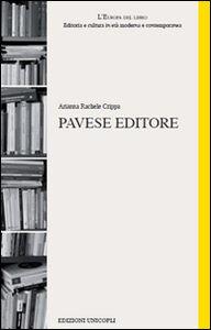Libro Pavese editore Arianna R. Crippa