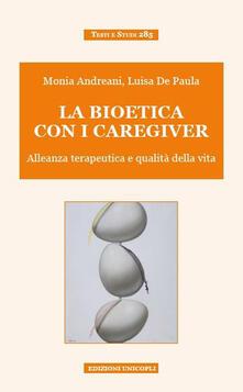 Premioquesti.it La bioetica con i caregiver. Alleanza terapeutica e qualità della vita Image