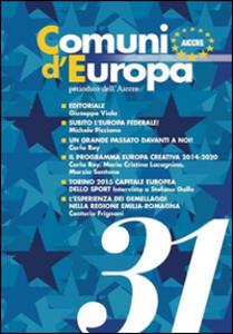 Comuni d'Europa. Vol. 31