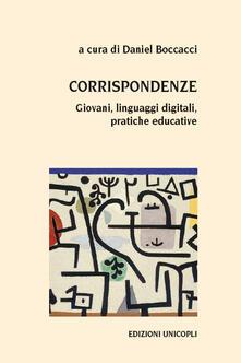 Promoartpalermo.it Corrispondenze. Giovani, linguaggi digitali, pratiche educative Image