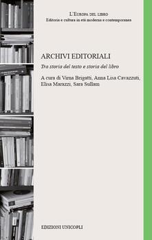 Winniearcher.com Archivi editoriali. Tra storia del testo e storia del libro Image