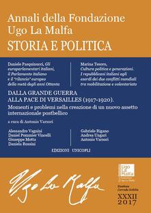 Listadelpopolo.it Annali della Fondazione Ugo La Malfa (2017). Vol. 32: Storia e politica. Image