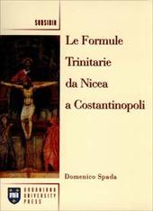 Le formule trinitarie da Nicea a Costantinopoli
