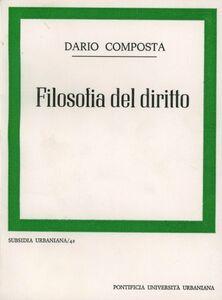 Filosofia del diritto. Prolegomeni, epistemologia, metodologia, protologia