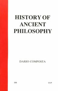 History of ancient philosophy (Storia della filosofia antica)