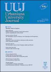 Urbaniana University Journal. Euntes Docete (2014). Vol. 1: Missione: work in progress.