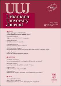 Libro Urbaniana University Journal. Euntes Docete (2015). Vol. 3: Focus: figure episcopali nel tardo antico. L'episcopato è sempre un bonus opus?.
