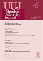 Urbaniana University Journal. Euntes Docete (2015). Vol. 3: Focus: figure episcopali nel tardo antico. L'episcopato è sempre un bonus opus?.