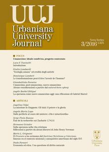Listadelpopolo.it Urbaniana University Journal. Euntes Docete (2013). Ediz. integrale. Vol. 3: Focus. Umanesimo: ideale condiviso, progetto contestato . Image