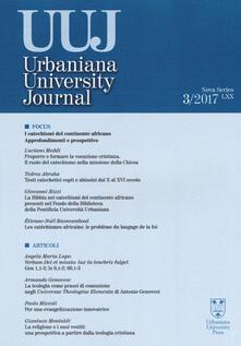 Festivalshakespeare.it Urbaniana University Journal. Euntes Docete (2017). Vol. 3: Focus: i catechismi del continente africano. Approfondimenti e prospettive. Image