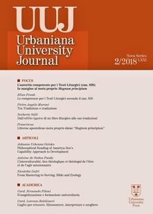 Voluntariadobaleares2014.es Urbaniana University Journal. Euntes Docete (2018). Vol. 02: autorità competente per i testi liturgici (can. 838). In margine al motu proprio Magnum principium, L'. Image