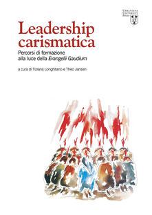 Antondemarirreguera.es Leadership carismatica. Percorsi di formazione alla luce della Evangelii Gaudium Image
