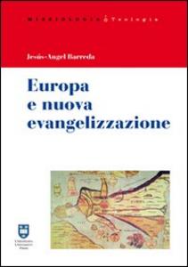 Libro Europa e nuova evangelizzazione Jesús-Angel Barreda