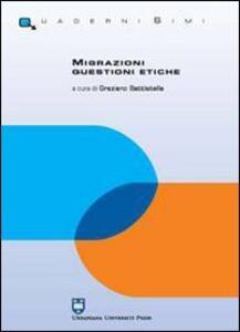 Migrazioni. Questioni etiche