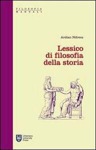 Libro Lessico di filosofia della storia Ardian Ndreca