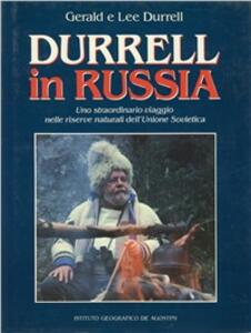 Libro Durrell in Russia Gerald Durrell Lee Durrell