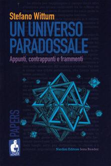 Premioquesti.it Un universo paradossale. Appunti, contrappunti e frammenti Image